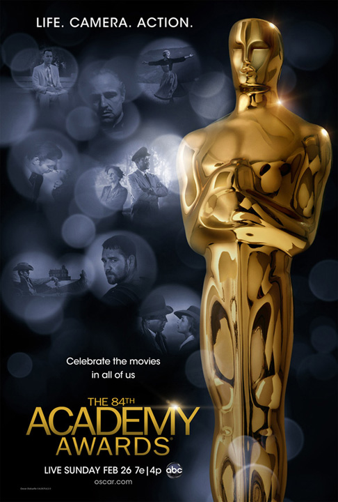 84th Academy Awards Poster – A few steps along the way to the finish…