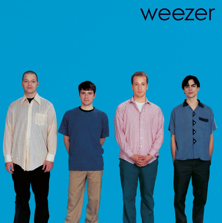 "Link to interview on the design of the Weezer ""Blue"" album cover"